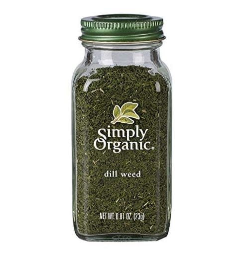 Simply Organic Dill Weed, Cut & Sifted, Certified Organic