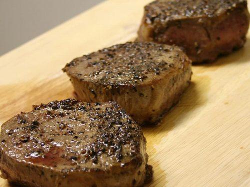 savoy sirloin steak with dijon port sauce