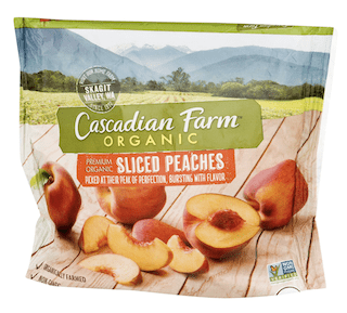 Cascadian Farm, Sliced Peaches, Organic