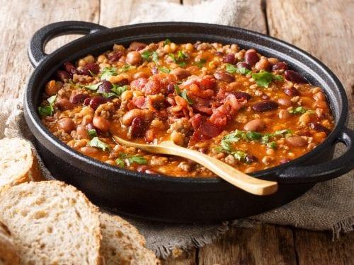 Barbecue Calico Beans Recipe, best calico beans recipe in a crock pot