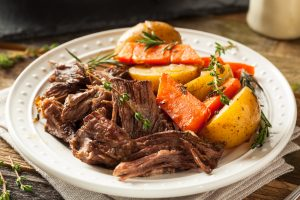 Slow Cooker Savory Pot Roast Recipe