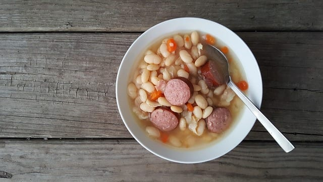 Smoked Kielbasa and White Bean Soup Recipe