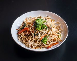 Soba with Toasted Sesame Seed Sauce Recipe
