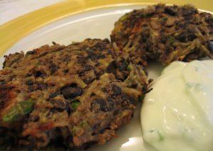 Spicy Black Bean Cakes Recipe