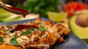 Spicy Chicken Enchiladas Recipe