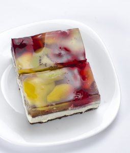 Stained Glass Jello Torte Recipe