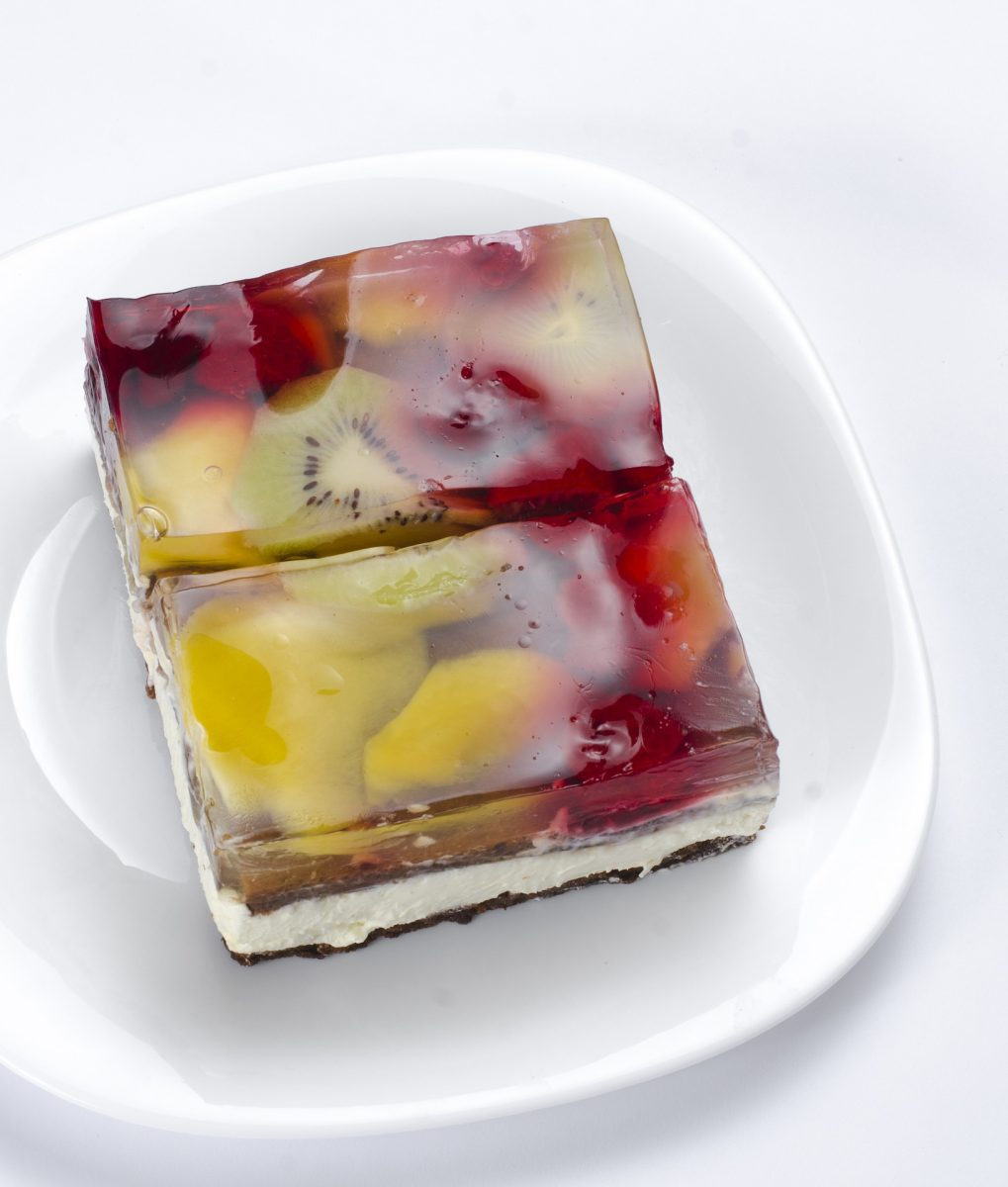 stained glass jello torte