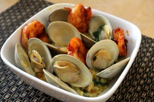 Steamed Clams and Shrimp Recipe