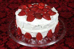 Strawberry Angel Food Dessert Recipe