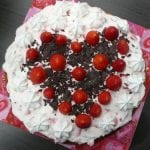 sweetheart strawberry cake