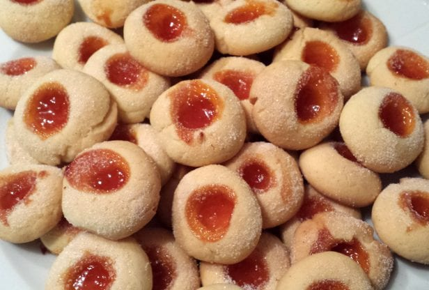 Strawberry Thumbprint Cookies Recipe