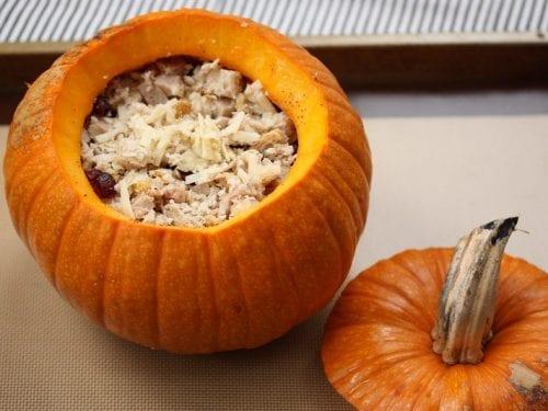 stuffed thanksgiving pumpkins