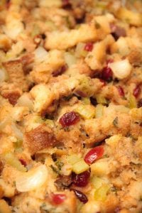 Stuffing with Cranberries Recipe