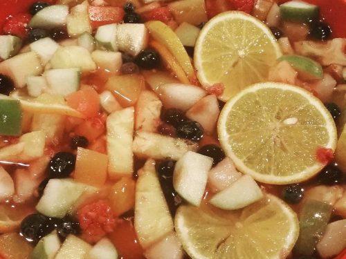summer fruit punch salad