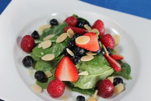 Summer Spinach and Strawberries Recipe