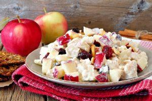 Sunny Apple Salad Recipe