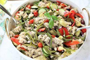 Surdyk's Greek Orzo Salad Recipe