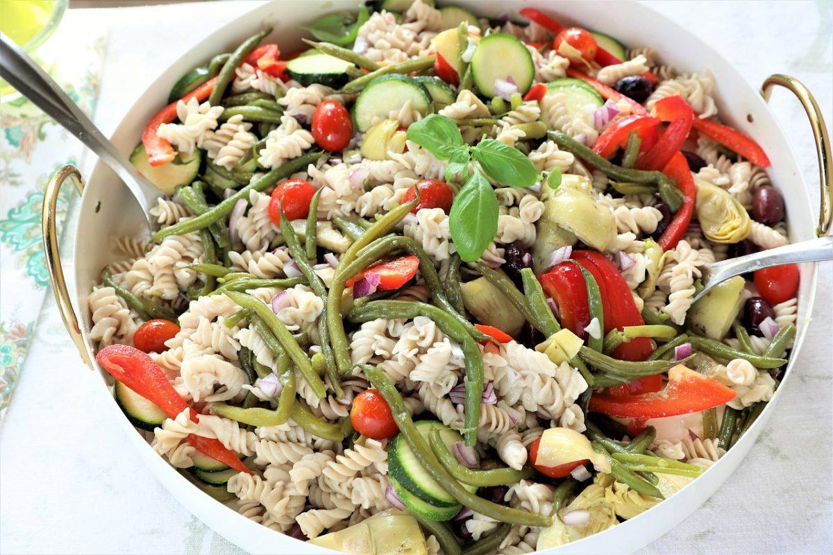 healthy greek orzo salad