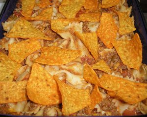 Taco Pasta with Chips Recipe