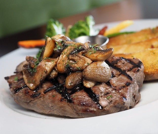 Teriyaki Mushrooms and Steak Recipe