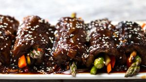 Teriyaki Roll-Ups Recipe