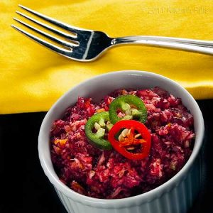 Texas Cranberry-Jalapeno Relish Recipe