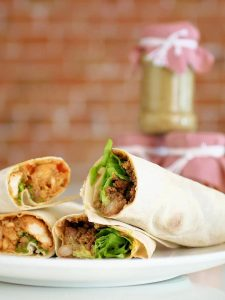 Thai Chicken Wrap Recipe