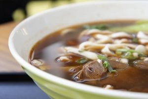 Thinly-Sliced Beef Ramen Soup Recipe