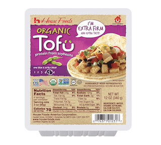 House Foods, Organic Extra-firm Tofu
