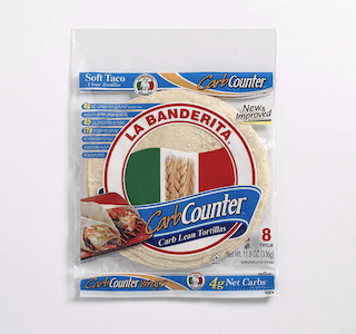 La Banderita® Carb Counter Flour Tortillas