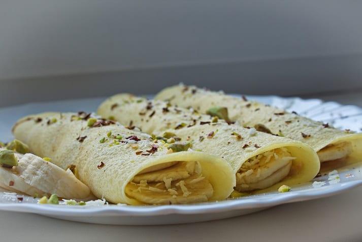 Travelin' Banana Roll-Up Recipe