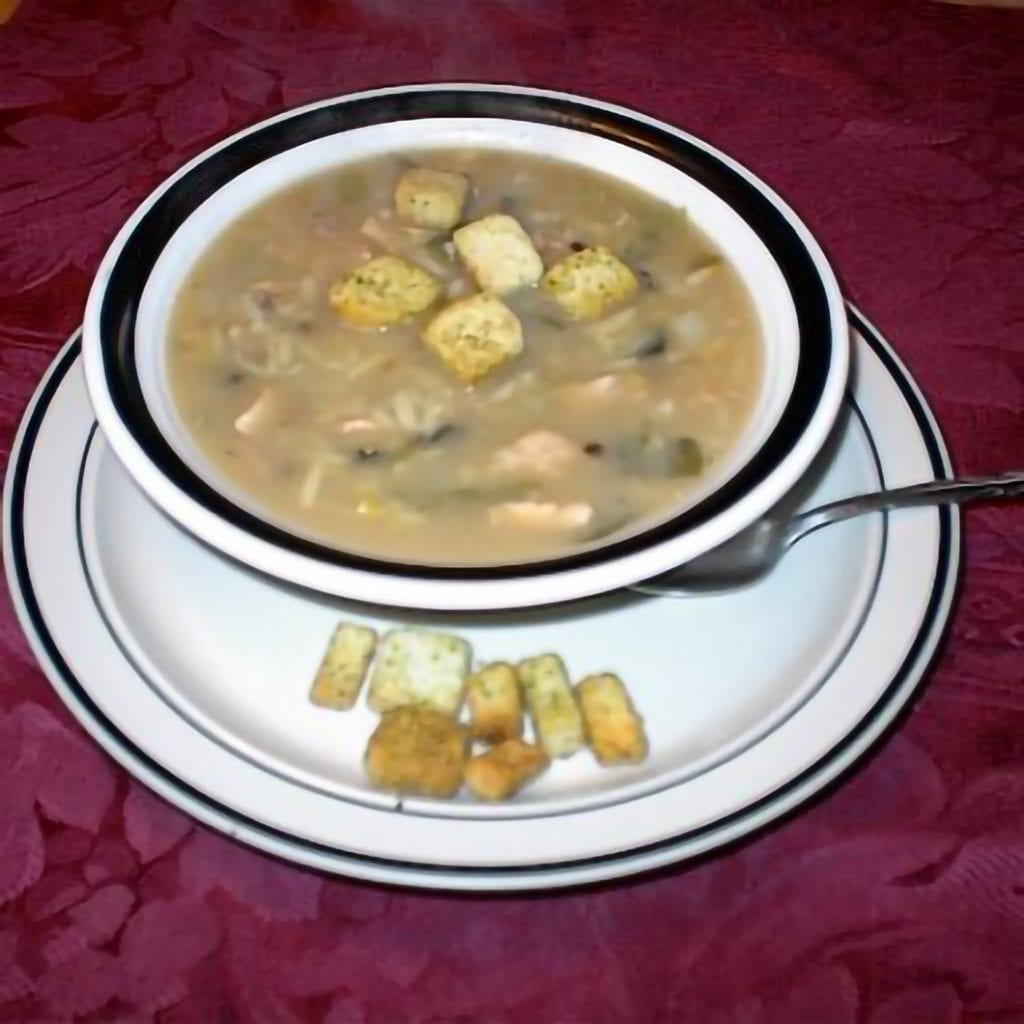 Turkey, Lentil And Orzo Soup With Turnips Recipe