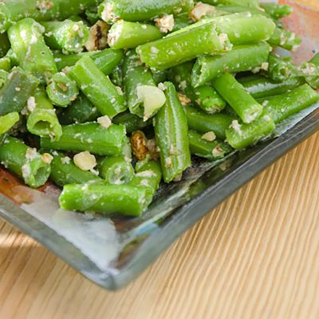 Twice-Fried Green Beans with Double-Blanched Garlic Recipe