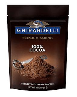 Ghirardelli Cocoa, Unsweetened