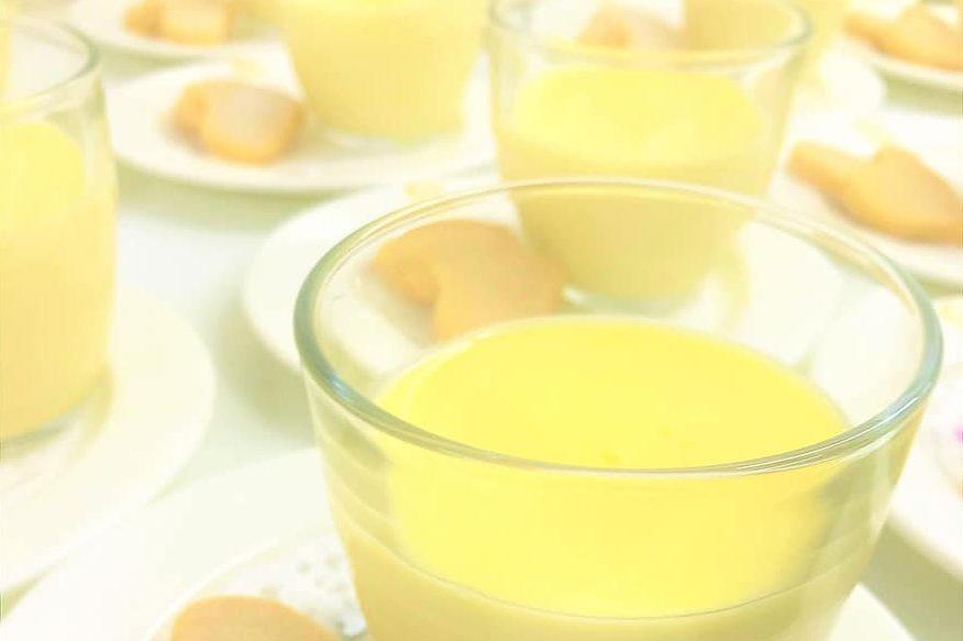 sweet vanilla cornstarch pudding