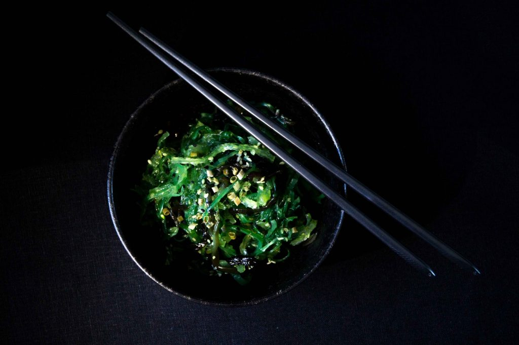 Wakame Sea Salad with Ginger Sesame Dressing Recipe