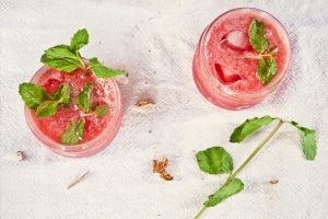 Watermelon Apple Mint Ice Recipe