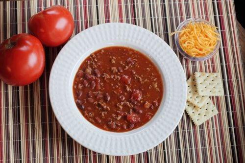 Copycat Wendy's Chili Recipe