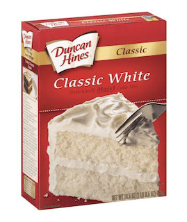 Duncan Hines, Classic White Cake Mix