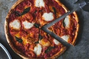 Whole Wheat Chicago Style Pizza Recipe