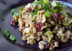 Wild Rice With Cranberries Recipe