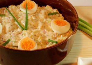 Zesty Egg Salad Bowl Recipe