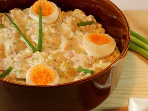 zesty egg salad bowl