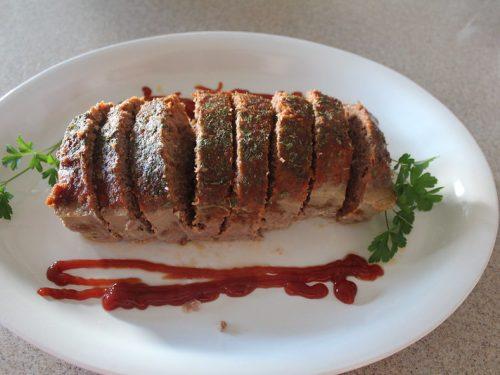 zesty onion meatloaf