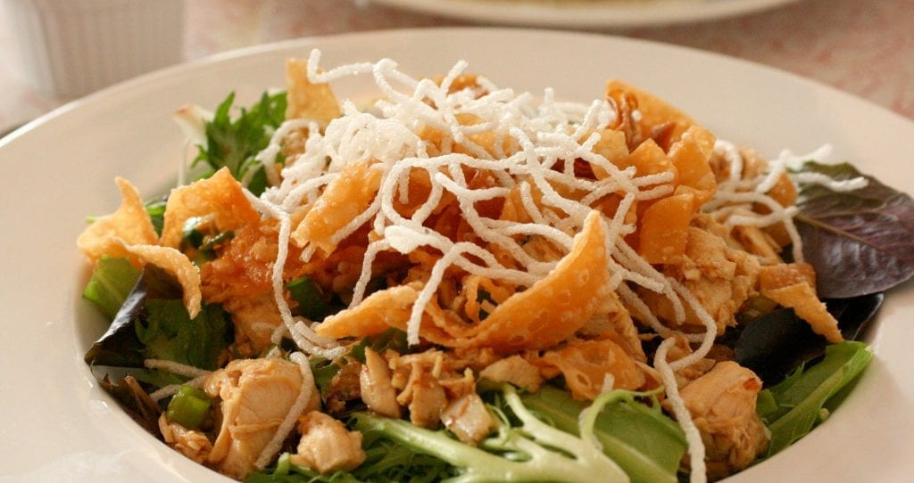 Copycat Chili's Asian Chicken Salad Recipe