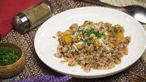 Barley-Herb Casserole Recipe