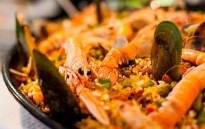 Crockpot Seafood Paella Recipe