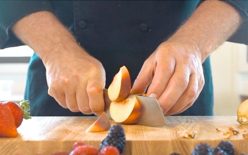 Cutting Apple