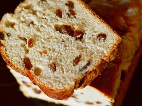 maple raisin bread