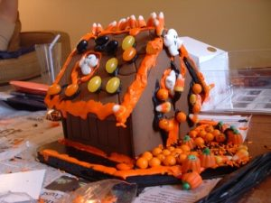 Haunted Gingerbread House Recipe